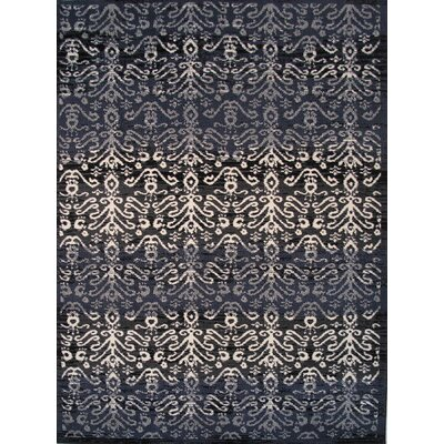 Botticelli Black Area Rug Rug Size: 2' x 4'