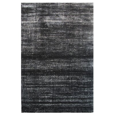 Aquarelle Black Area Rug Rug Size: 8 x 11