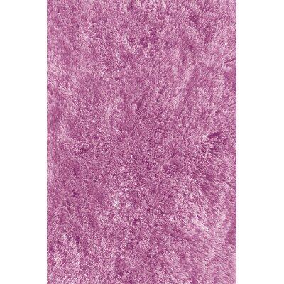 Soft Shaggy Lavender Indoor Area Rug