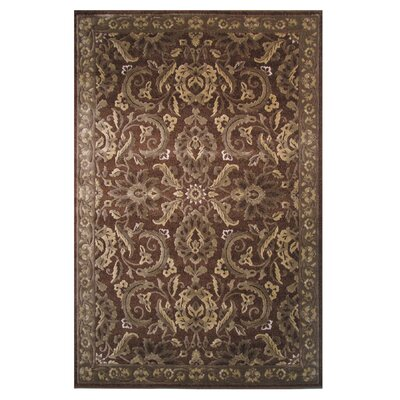 Brown Area Rug Rug Size: Runner 2 x 8