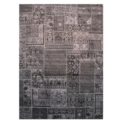 Brown/Rust Area Rug Rug Size: 2 x 4