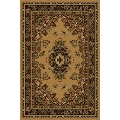Cosmos Brown Area Rug Rug Size: 5 x 8