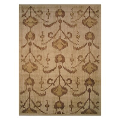 Inspiration Brown Area Rug Rug Size: Runner 2 x 8