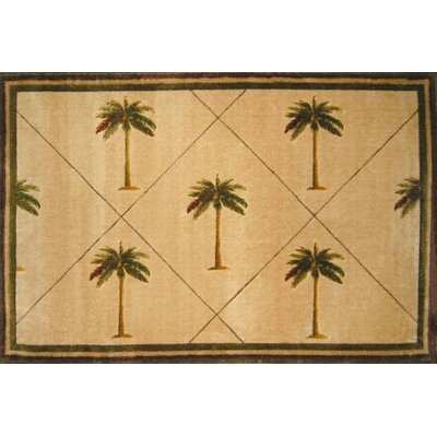Fun Time Palm Fonds Palm Tree Novelty Rug Size: Rectangle 33 x 410