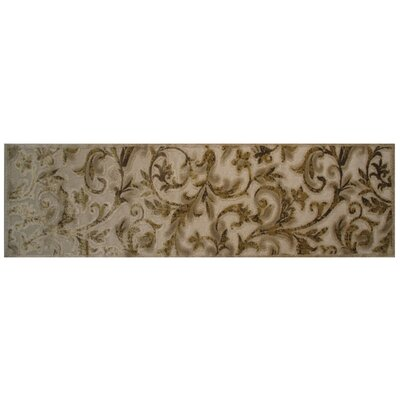 Light Brown Area Rug Rug Size: Runner 2 x 8