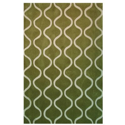 Capri Green Area Rug