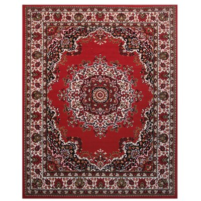 Olympic Red Area Rug