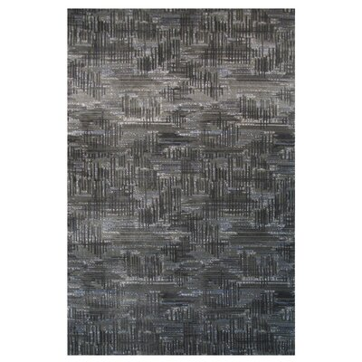 Aquarelle Grey Area Rug Rug Size: Runner 2 x 8