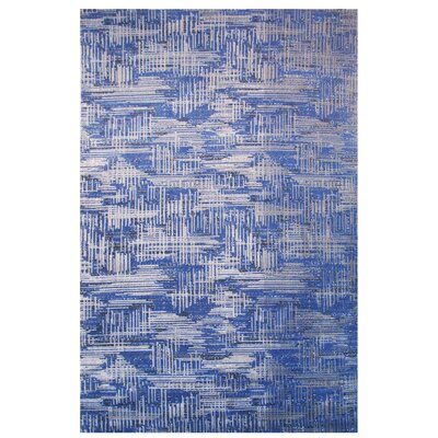 Aquarelle Blue Area Rug Rug Size: Runner 2 x 8