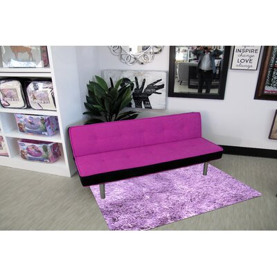 Silky Shag Lavender Indoor Area Rug Rug Size: Rectangle 73 x 10