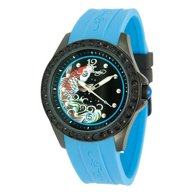 Ed Hardy Women's Techno Watch in Blue at Sears.com