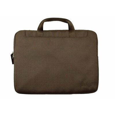 THIN Laptop Sleeve Color: Chocolate Brown, Size: 15.4