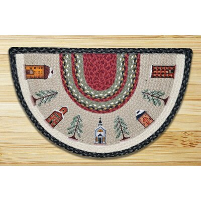 Winter Village Printed Slice Rug