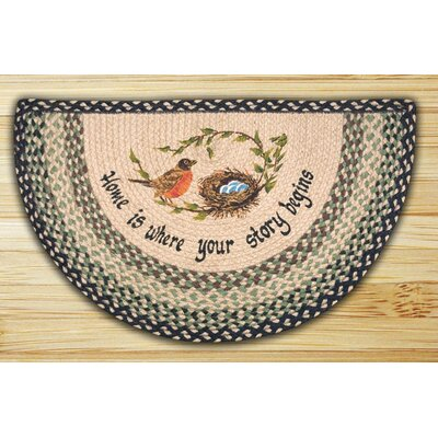 Robins Nest Printed Slice Rug