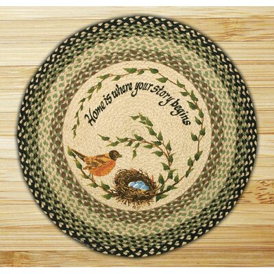 Robins Nest Printed Area Rug