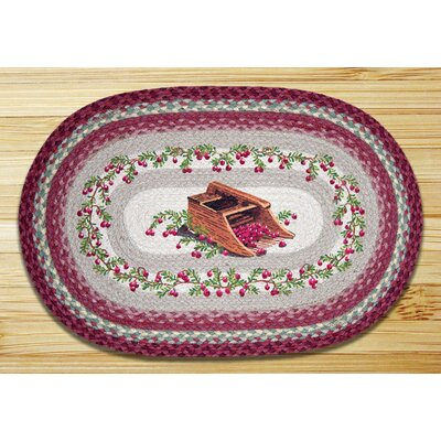 Cranberries Printed Area Rug