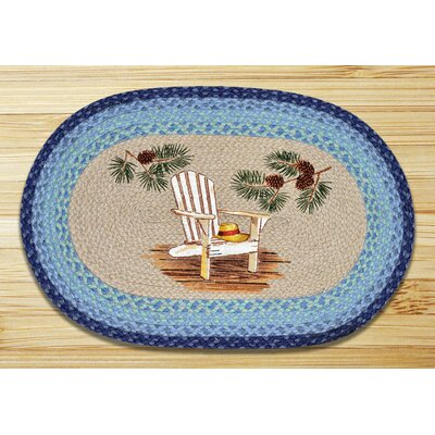 Lake Chair Printed Area Rug