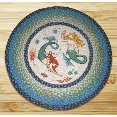 Mermaids Printed Area Rug