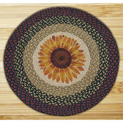 Sunflower Printed Area Rug