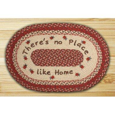 No Place Like Home Printed Area Rug