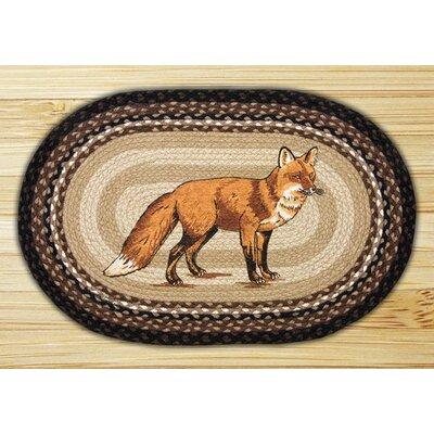 Fox Printed Area Rug