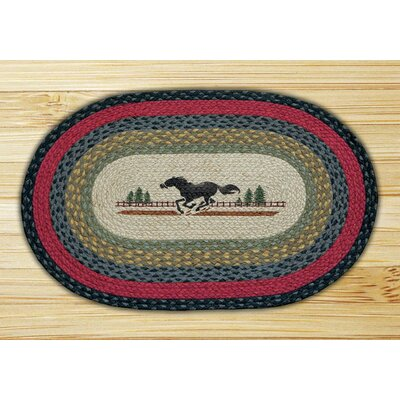 Horse Printed Area Rug