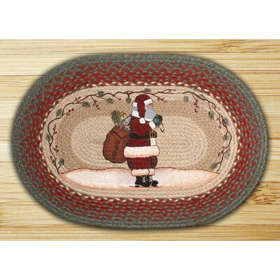 Santa Printed Area Rug