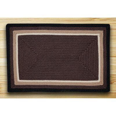 In the City Cocoa Indoor/Outdoor Area Rug Rug Size: 21 x 39