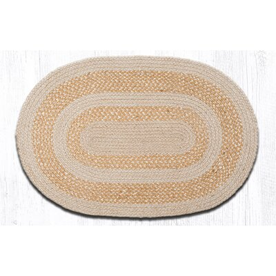 In the City Ecru Indoor/Outdoor Area Rug Rug Size: Oval 21 x 39