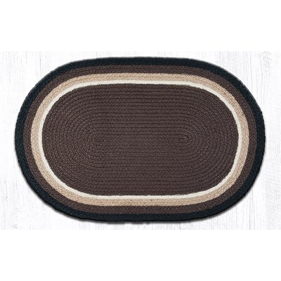 In the City Cocoa Indoor/Outdoor Area Rug Rug Size: Oval 21 x 39