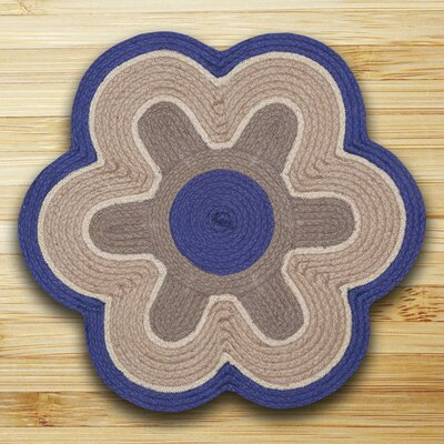 In the City Blue/Natural Indoor/Outdoor Area Rug