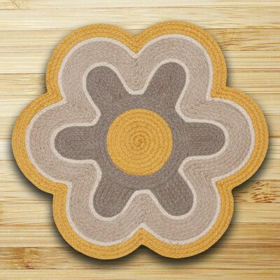 In the City Marigold/Natural Indoor/Outdoor Area Rug