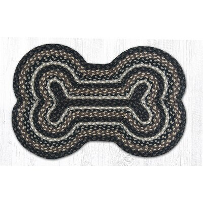 Mocha/Frappuccino Dog Bone Shaped Rug Rug Size: 16 x 24