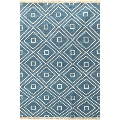 Mali Hand-Woven Blue Indoor/Outdoor Area Rug Rug Size: 8 x 10