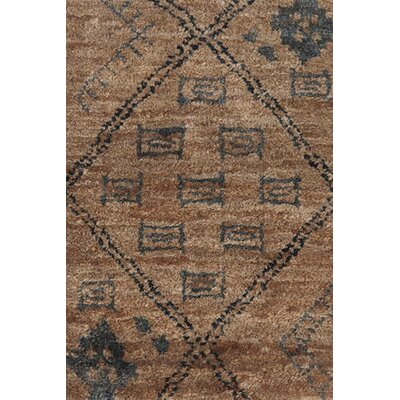 Zuni Hand Knotted Brown Area Rug Rug Size: Runner 26 x 8
