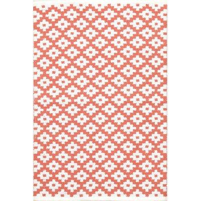 Samode Hand Woven Pink Indoor/Outdoor Area Rug Rug Size: 4 x 6