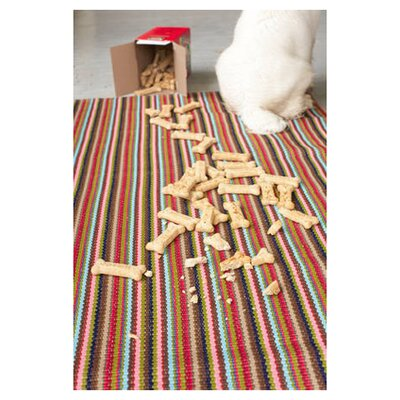 Hand Woven Indoor/Outdoor Area Rug Rug Size: Runner 25 x 8