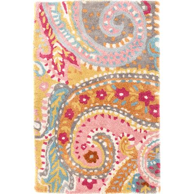 Tufted Area Rug Rug Size: 3 x 5