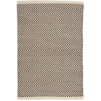 Arlington Hand Woven Grey Indoor/Outdoor Area Rug Rug Size: 10 x 14