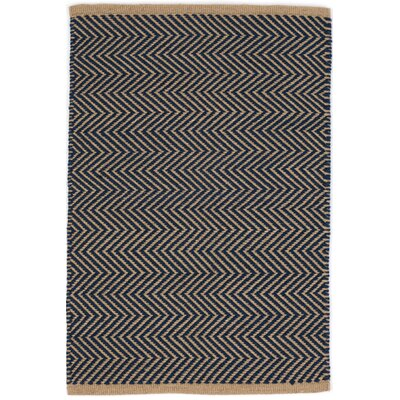 Arlington Hand Woven Blue Indoor/Outdoor Area Rug Rug Size: 5 x 8