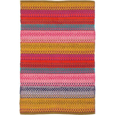Gypsy Hand Woven Area Rug Rug Size: Rectangle 2 x 3