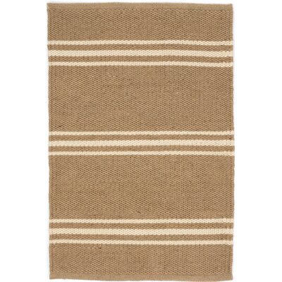 Lexington Hand Woven Beige Indoor/Outdoor Area Rug Rug Size: 3 x 5