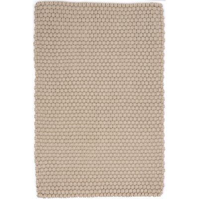 Hand Woven Brown Indoor/Outdoor Area Rug Rug Size: Rectangle 4 x 6