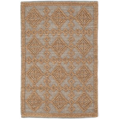 Hand Woven Brown Area Rug Rug Size: Rectangle 8 x 10