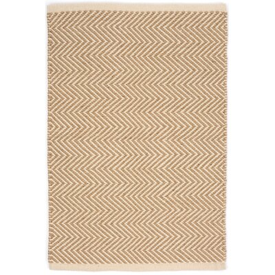 Arlington Hand Woven Beige Indoor/Outdoor Area Rug Rug Size: 10 x 14