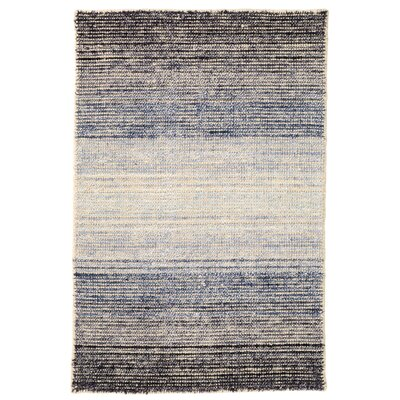 Blue Moon Blue Area Rug Rug Size: Runner 26 x 8