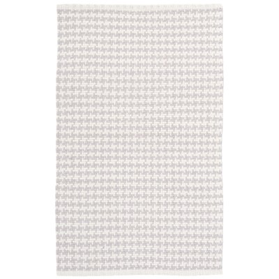 Checks Gray Area Rug Rug Size: 6 x 9