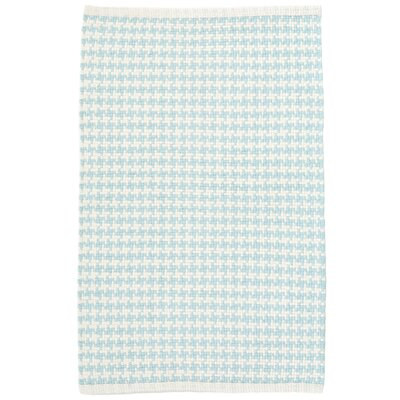 Checks Blue Area Rug Rug Size: 2 x 3