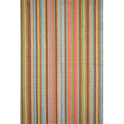 Zanzibar Brown/Orange/Yellow Area Rug Rug Size: Rectangle 5 x 8