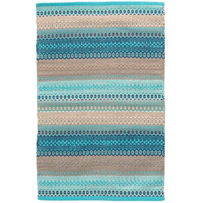 Gypsy Blue/Gray Area Rug Rug Size: Runner 26 x 12